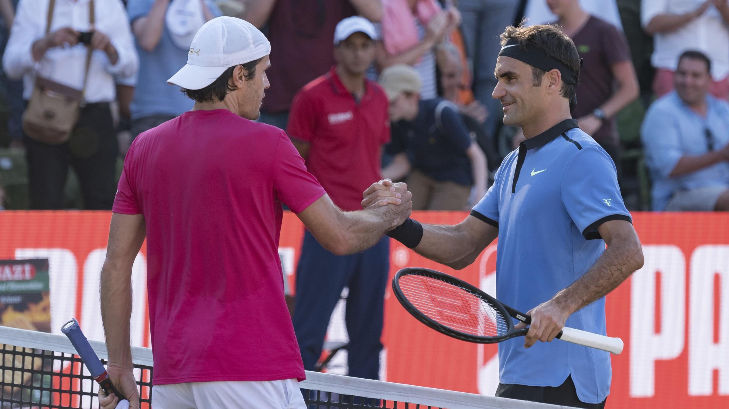 Tommy Haas cuts Roger Federer comeback short in Stuttgart