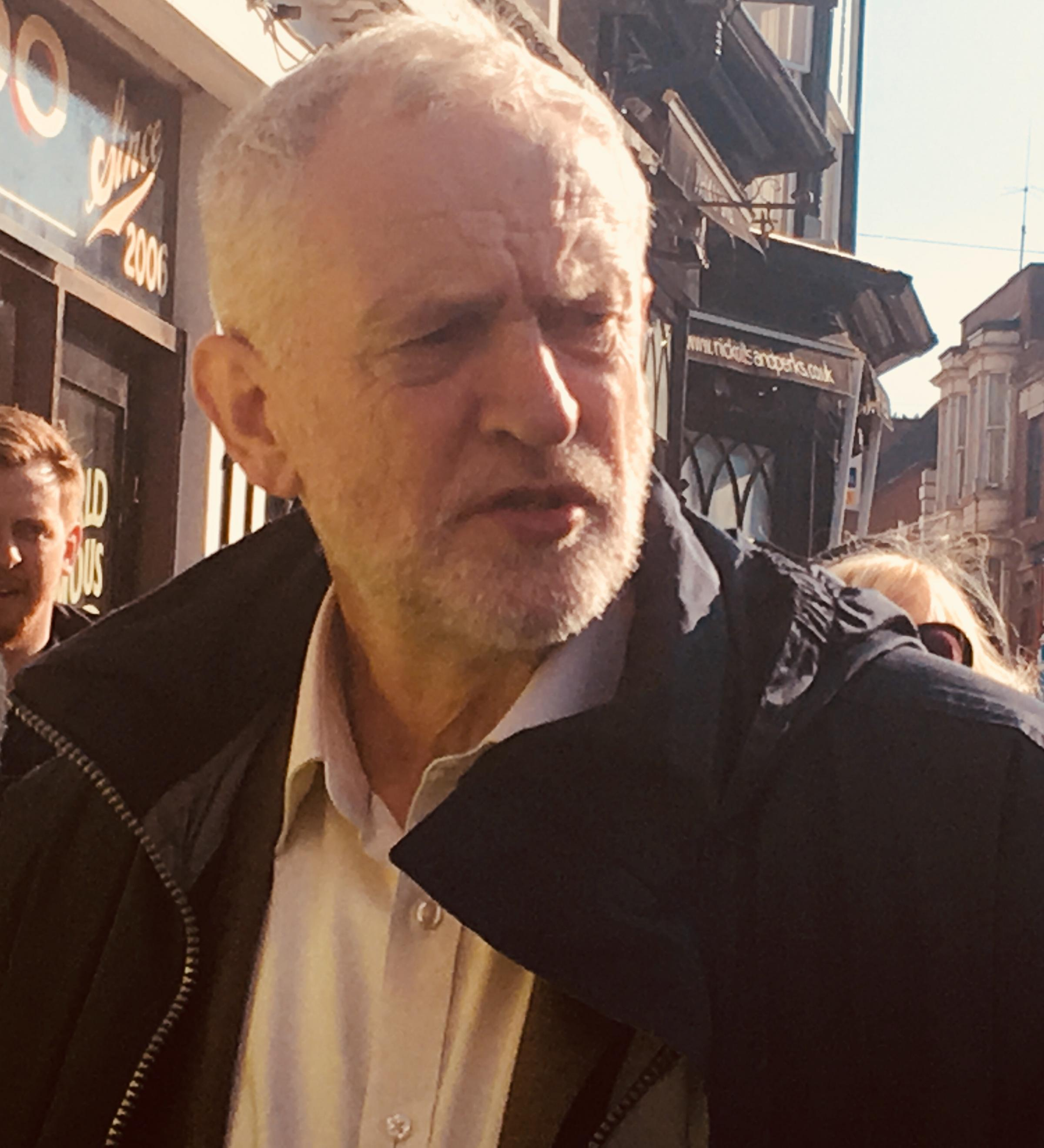 Jeremy Corbyn's criticism of the customs union